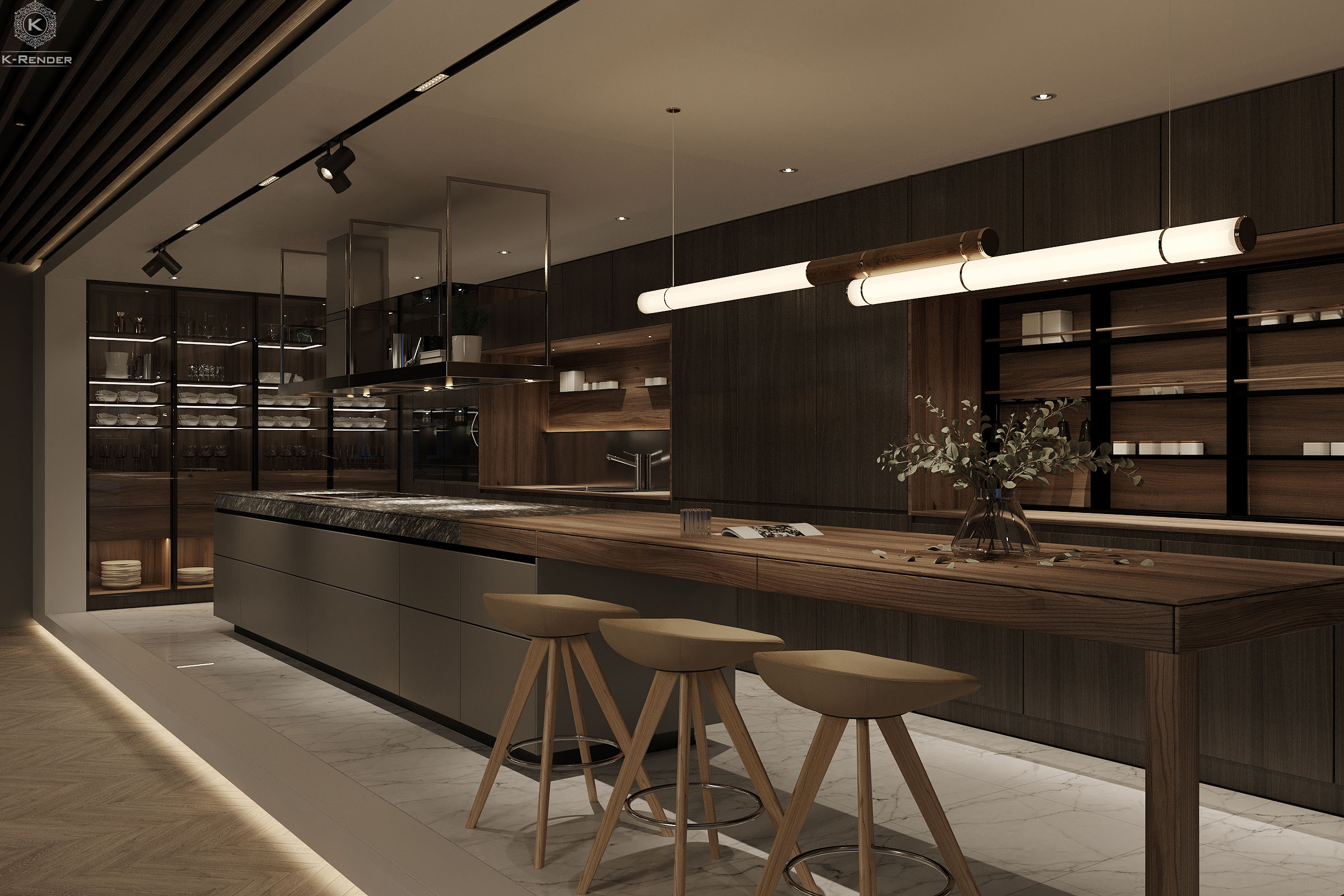 Interior-kitchen-was-rendered-by-K-Render-Studio-the-architectural-rendering-company