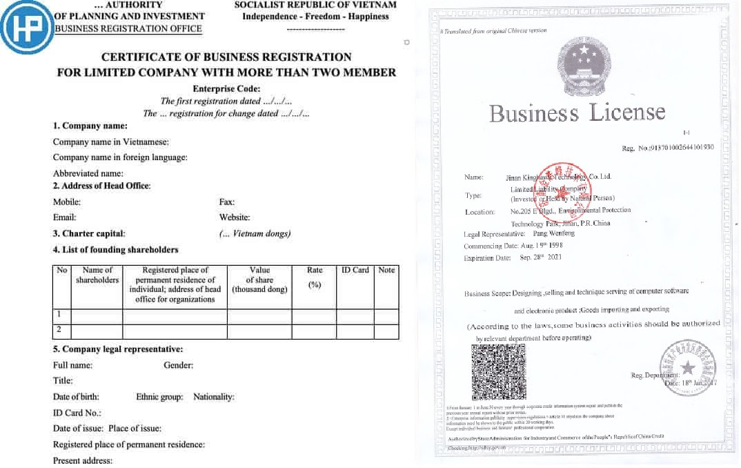An-example-of-the-business-license-in-the-world